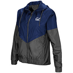 MD25-Cal Bears Women's First Class Windbreaker Jacket by Colosseum F18