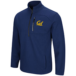 MD25-Cal Bears Men's Townie 1/2 Zip Jacket by Colosseum F18