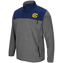 Cal Bears Men's You Can Do It 1/2 Snap Fleece Jacket by Colosseum