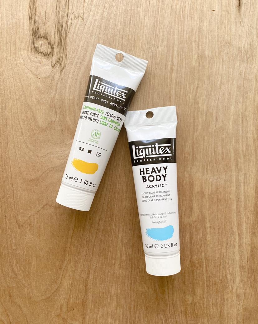 Liquitex Heavy Body Acrylic Paints, 2 oz