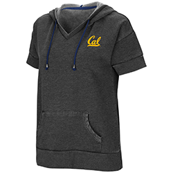 MD25-Cal Bears Women's Dugan SS Hoodie by Colosseum