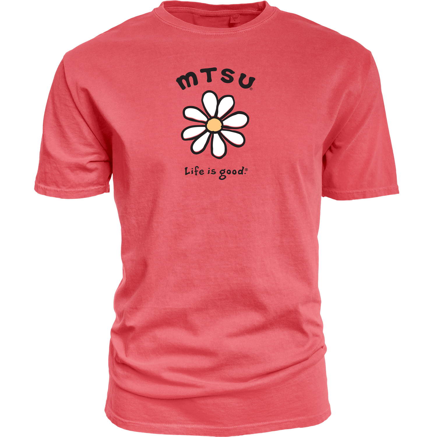 MTSU Daisy Life is Good® Dyed Ringspun Shirt