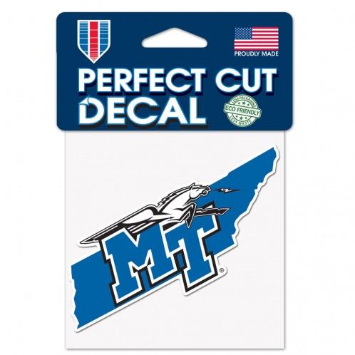 MT Logo w/ Lightning State Shape 4x4 Decal