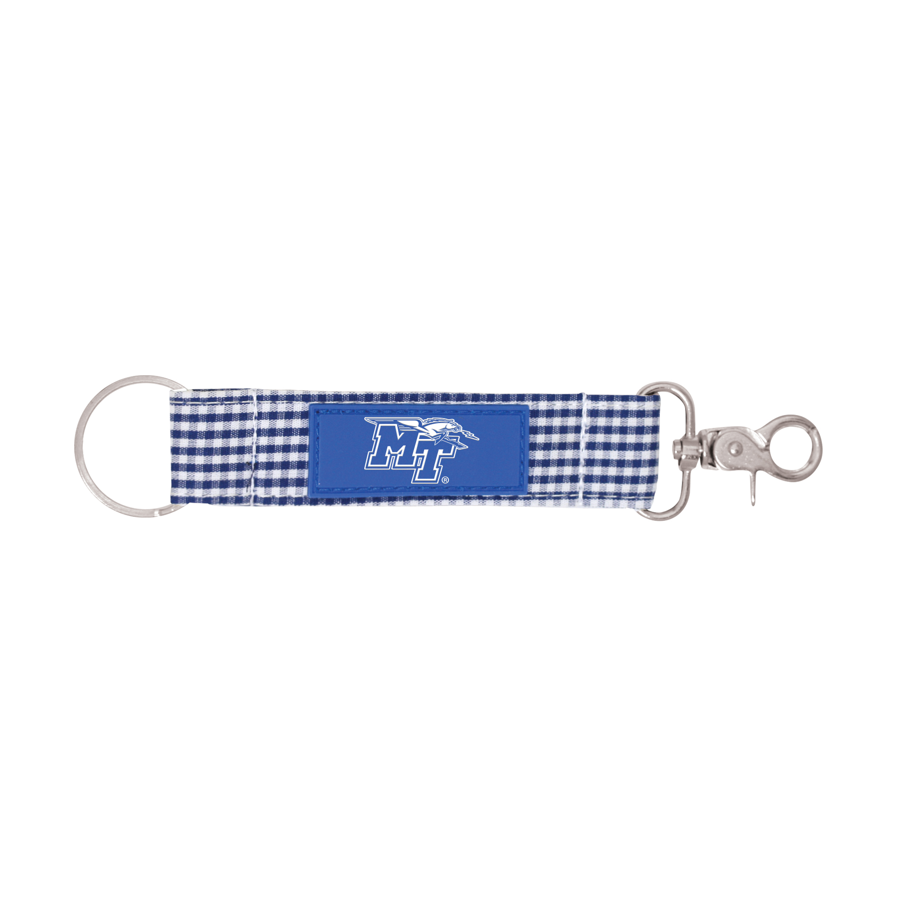 MT Logo w/ Lightning Newport Gingham Key Strap