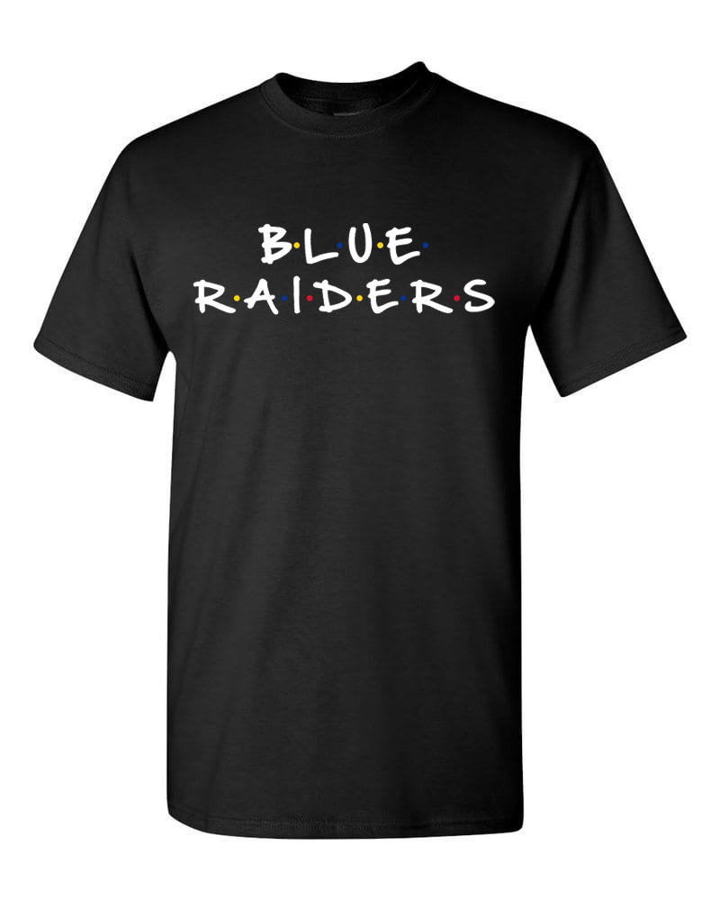 Blue Raiders Dotted Tshirt