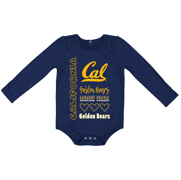 Cal Bears Infant Girls Its Still Good L/S Onsie by Colosseum F18