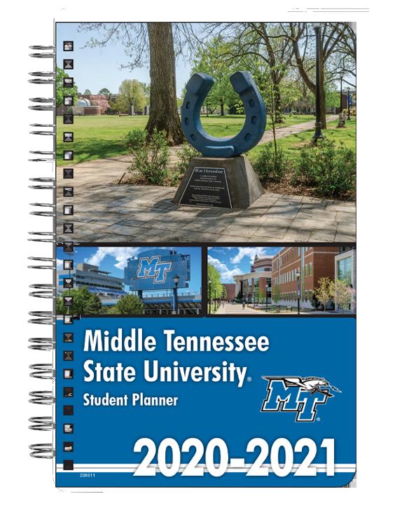 MTSU 2020-21 Student Planner