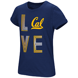 Cal Bears Girls Own This Town S/S Tee by Colosseum F18
