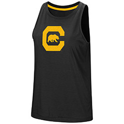 MD25-Cal Bears Women's Bet On Me Muscle Tank by Colosseum F18