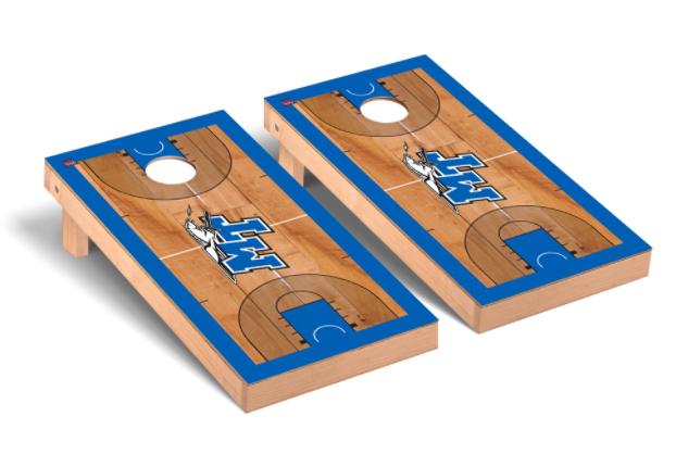 Middle Tennessee Blue Raiders Regulation Cornhole Game Set Basketball Court Version
