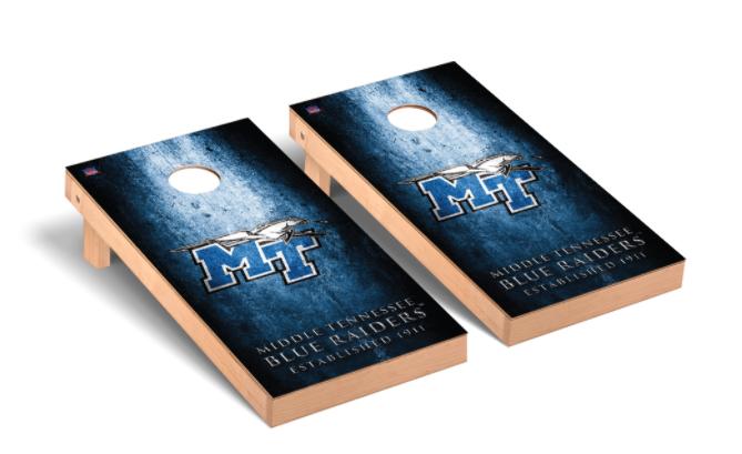 Middle Tennessee Blue Raiders Regulation Cornhole Game Set Museum Version