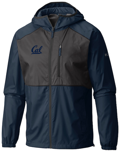 Cal Bears Columbia Men's Flash Forward Windbreaker