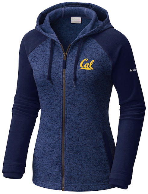 Cal Bears Columbia Women's Darling Days Full Zip