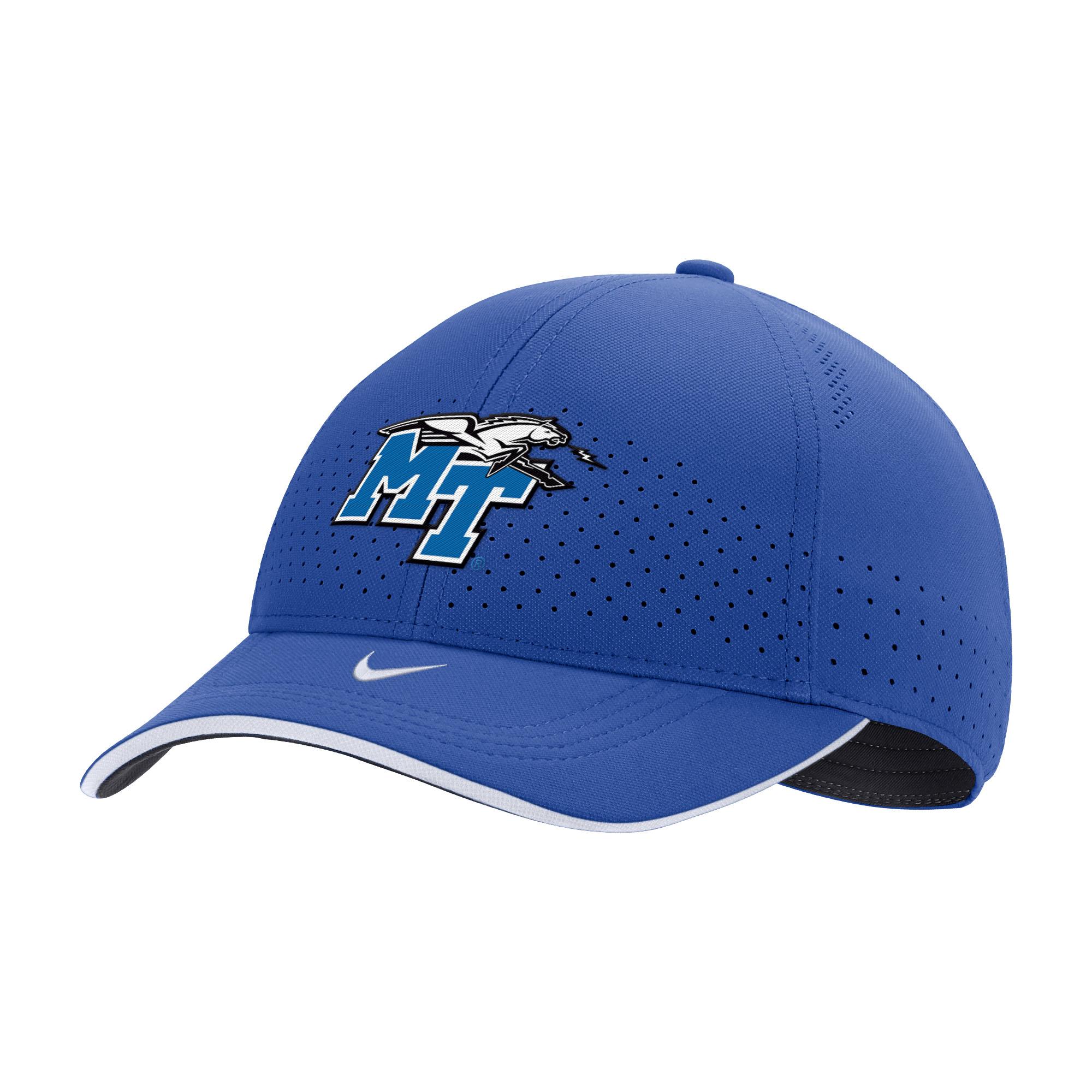 MT Logo w/ Lightning Nike® Sideline Swoosh Flex Hat
