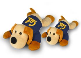"Cal Bears Floppy Dog in Shirt (8"")"