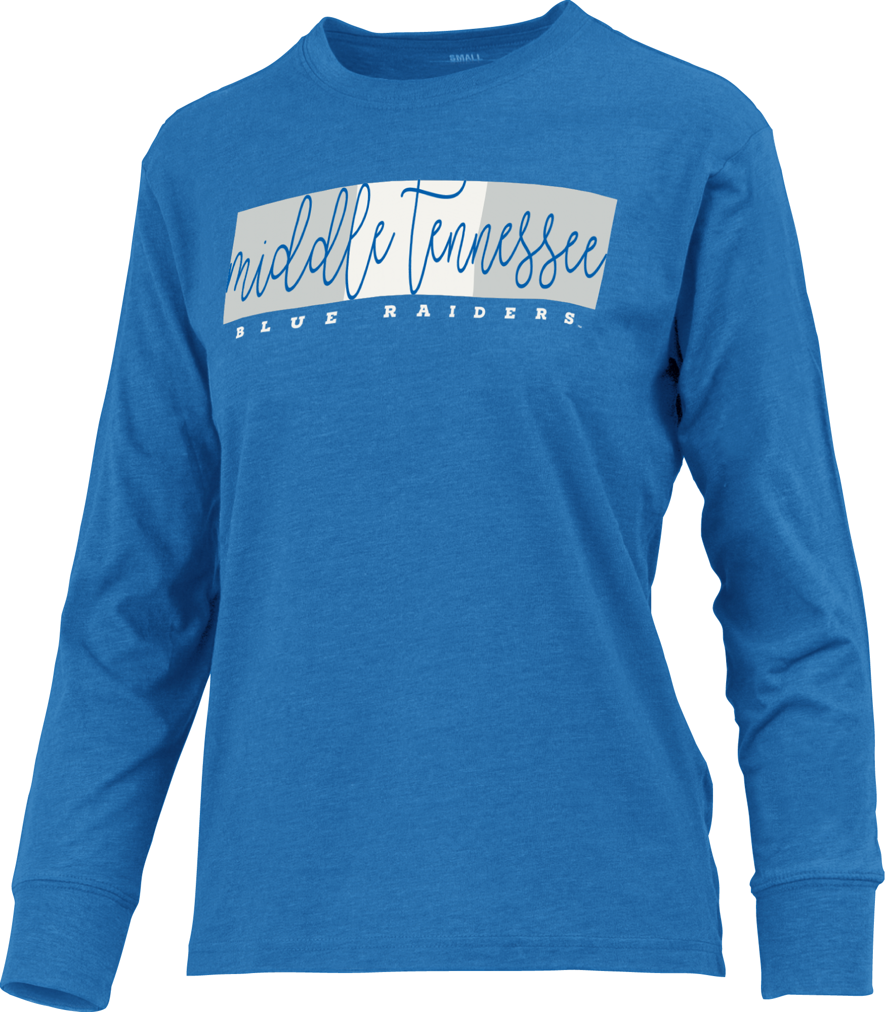 Middle Tennessee Blue Raiders Melange Women's Long Sleeve Shirt