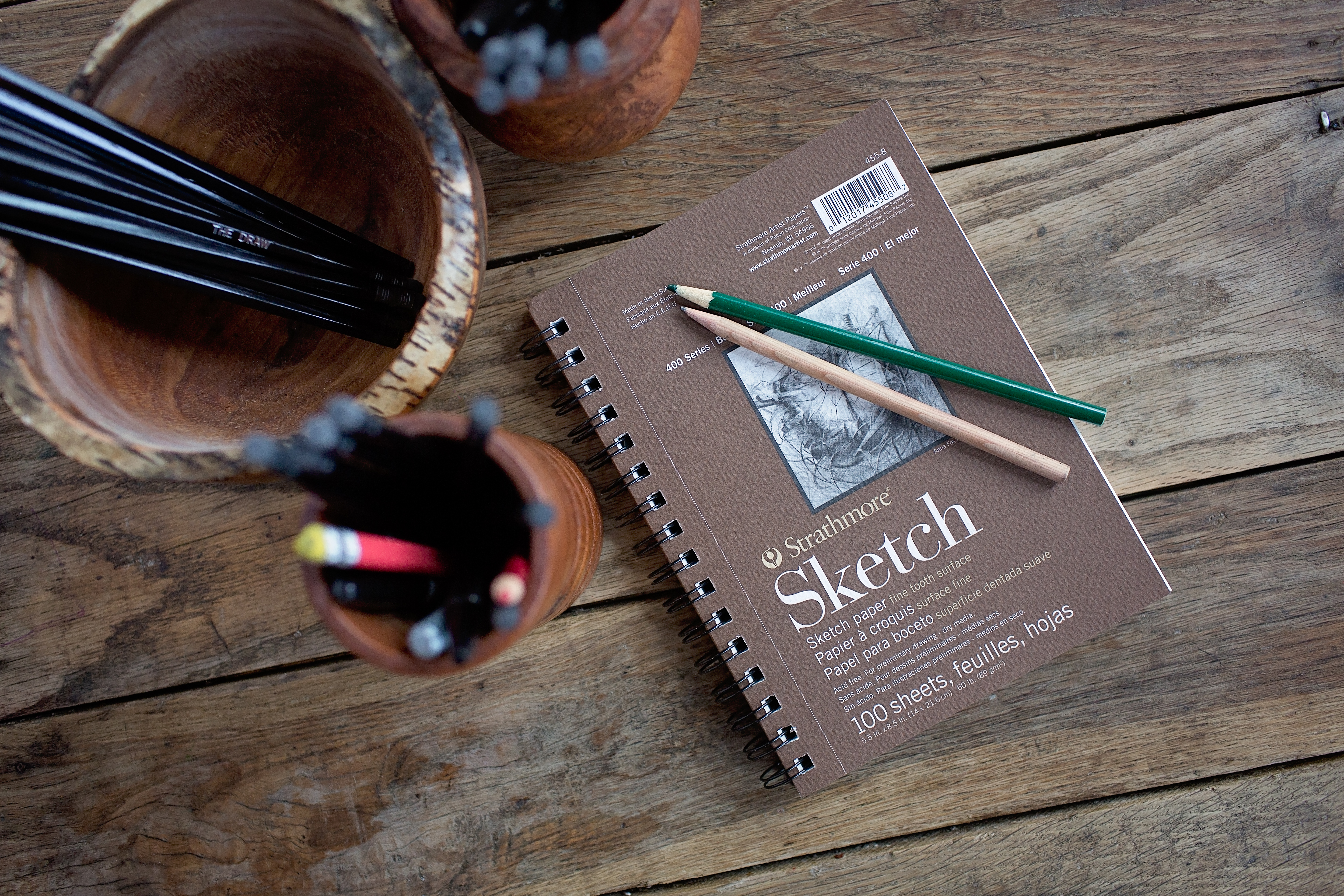 "Strathmore 400 Series 5.5"" x 8.5"" Sketch Book"