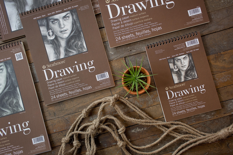 "Strathmore Drawing Pad, Spiral-bound, 11""x14"""