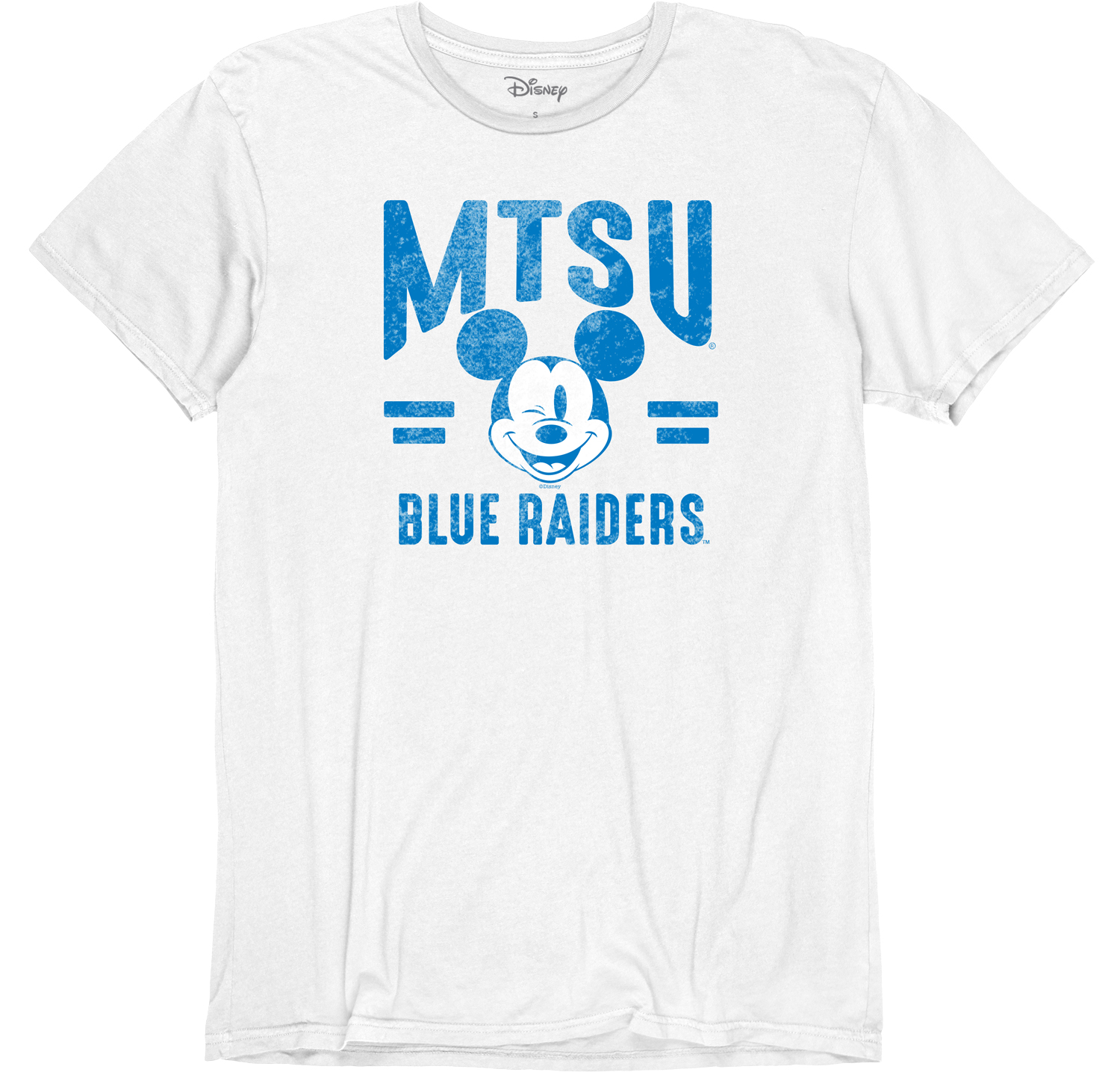 MTSU Between the Lines Mickey Vintage Basic Shirt