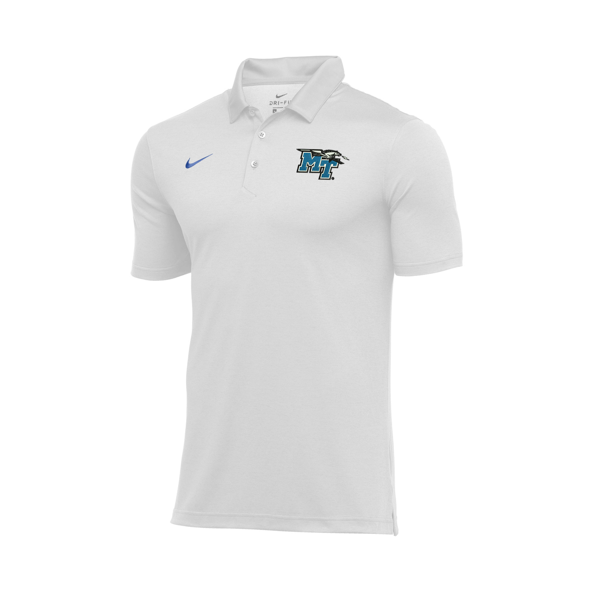 MT Logo w/ Lightning Dry Stripe Nike® Polo