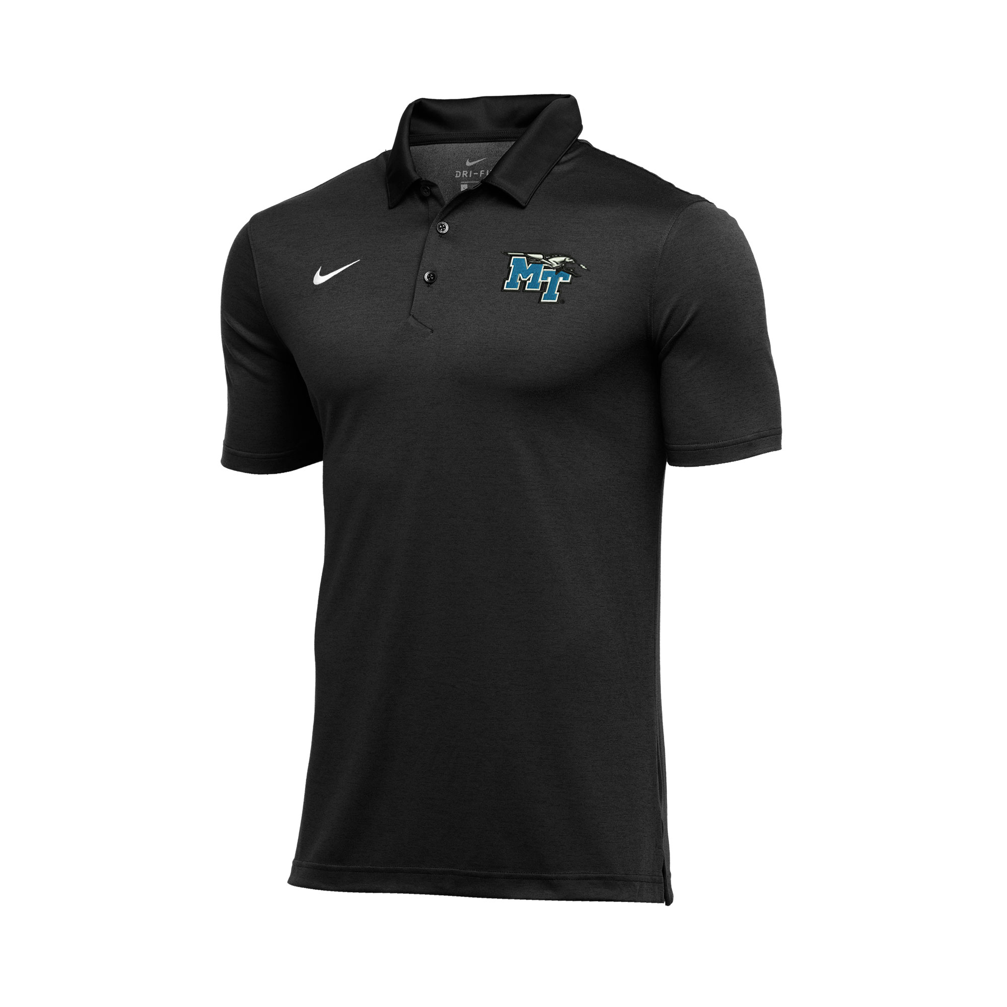 MT Logo w/ Lightning Dry Stripe Nike® Polo