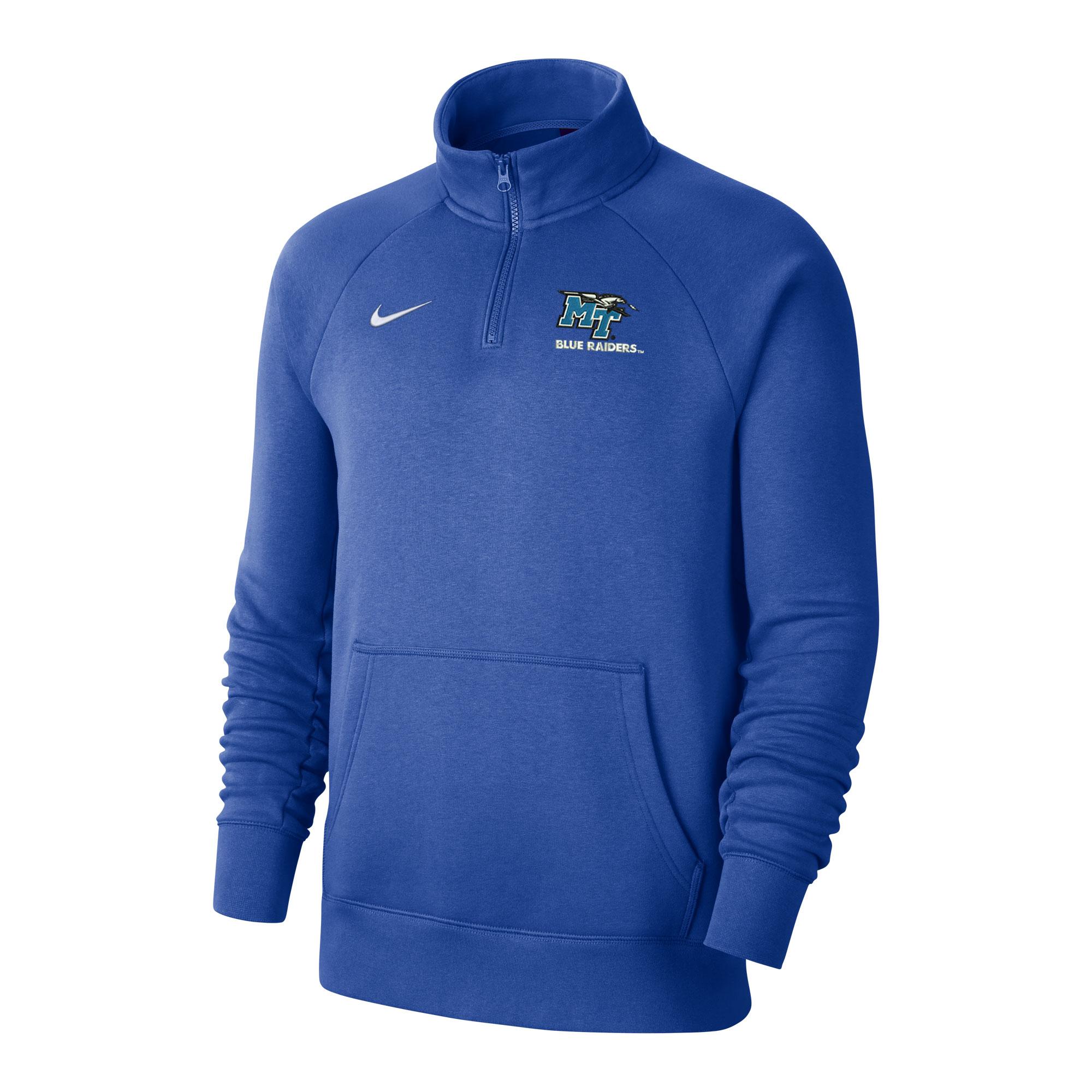 MT Blue Raiders Club 1/4 Zip Nike® Sweatshirt