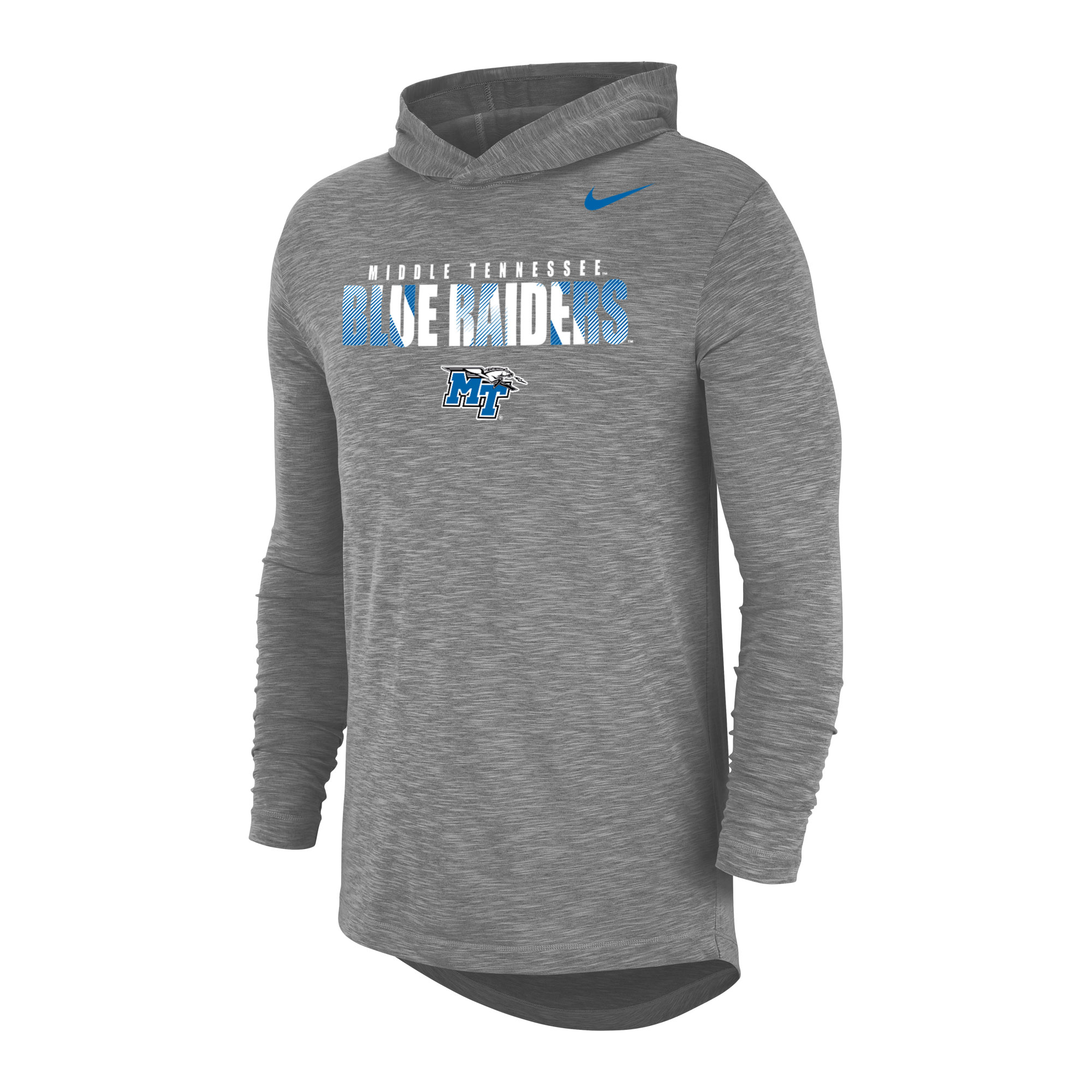 Middle Tennessee Blue Raiders Nike® DriFit Cotton Slub LS Hoodie