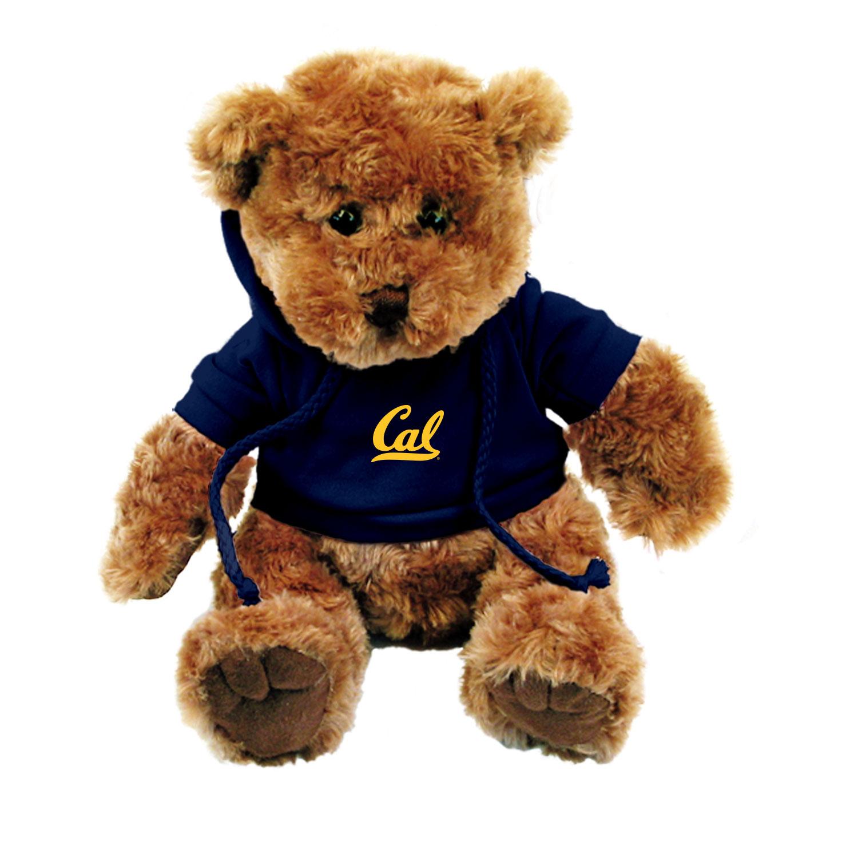 "Cal Bears 10"" Traditional Bear with Cal Hoody"