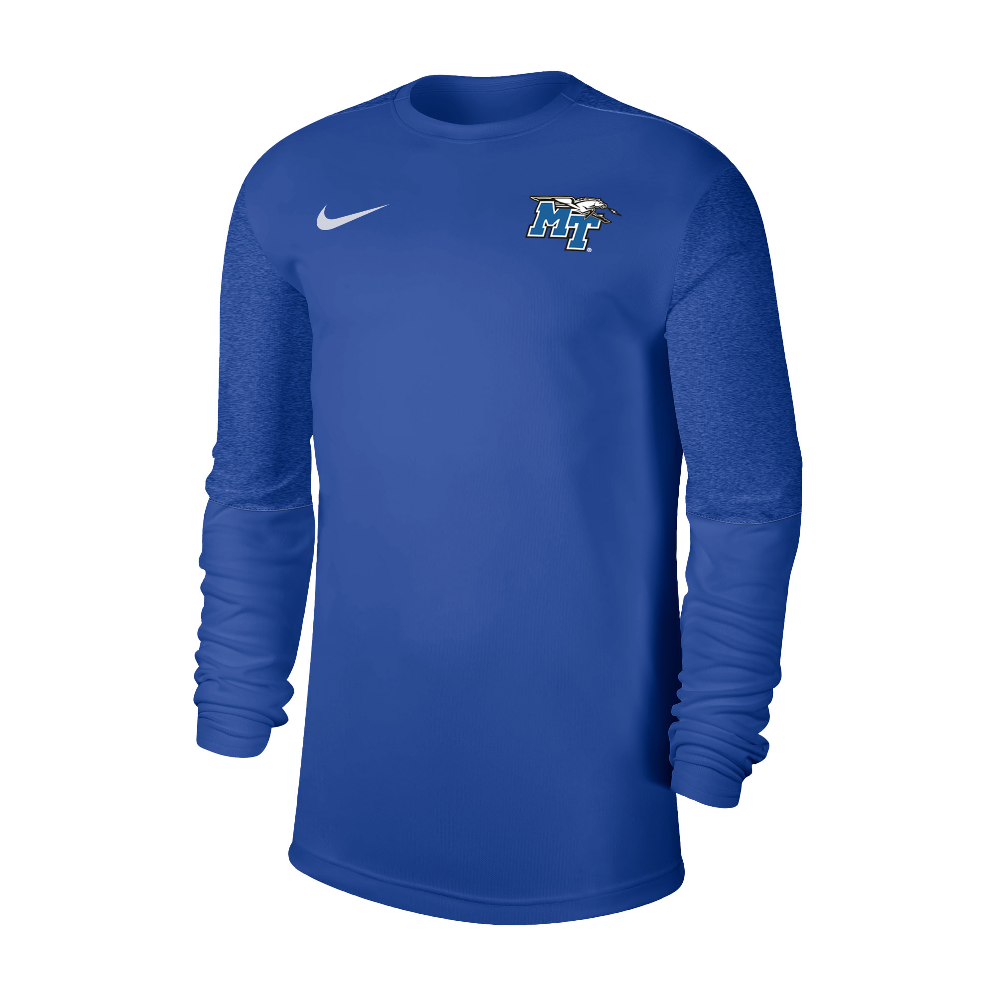MT Logo w/ Lightning Coach Long Sleeve Nike® Shirt
