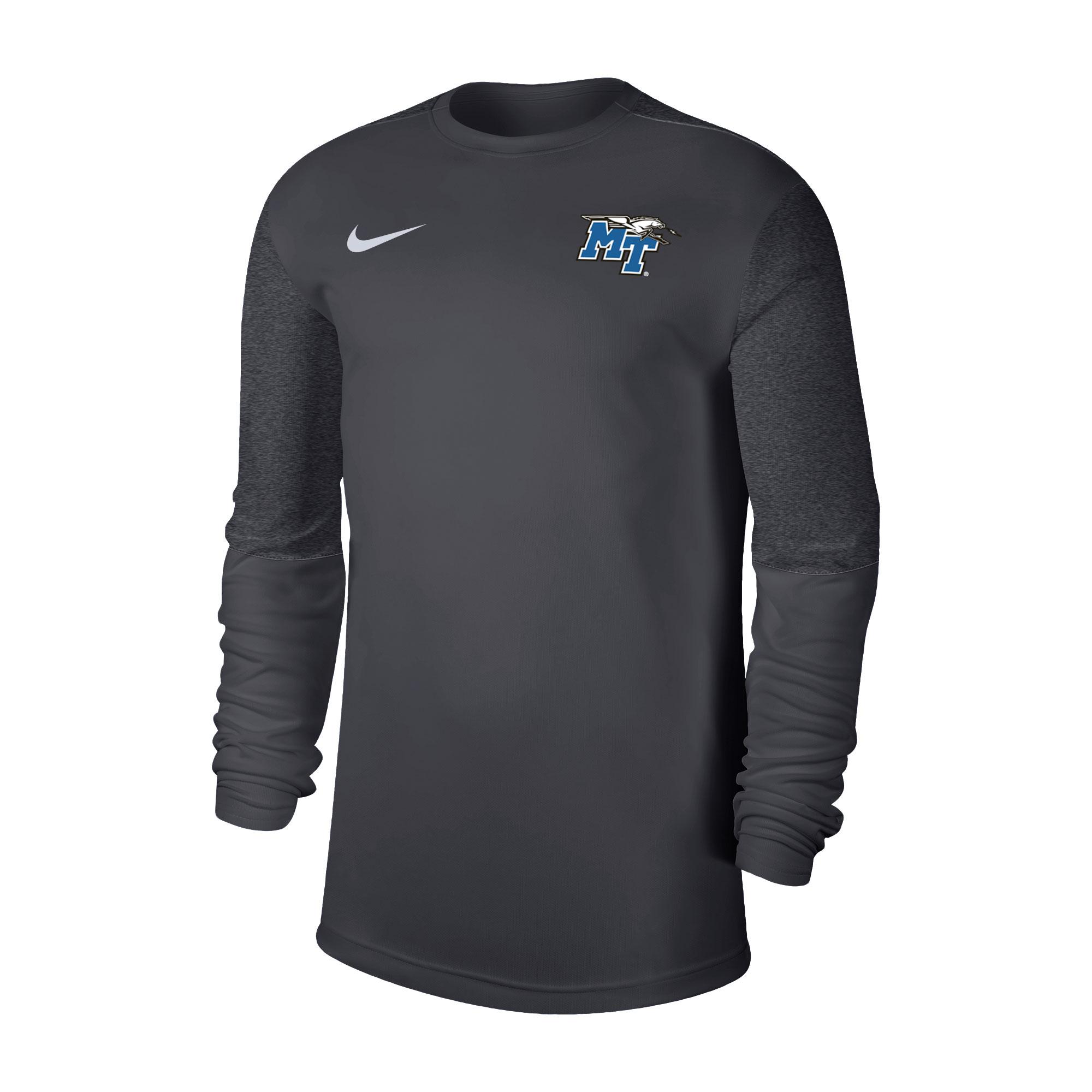 MT Logo w/ Lightning Coach Long Sleeve Nike® Shirt