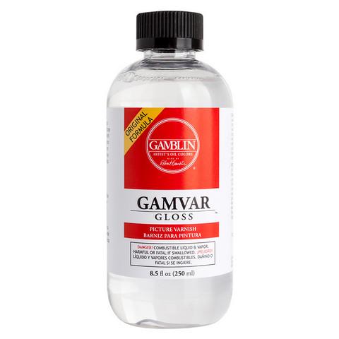 Gamblin Gamvar Gloss, 8.5 oz.