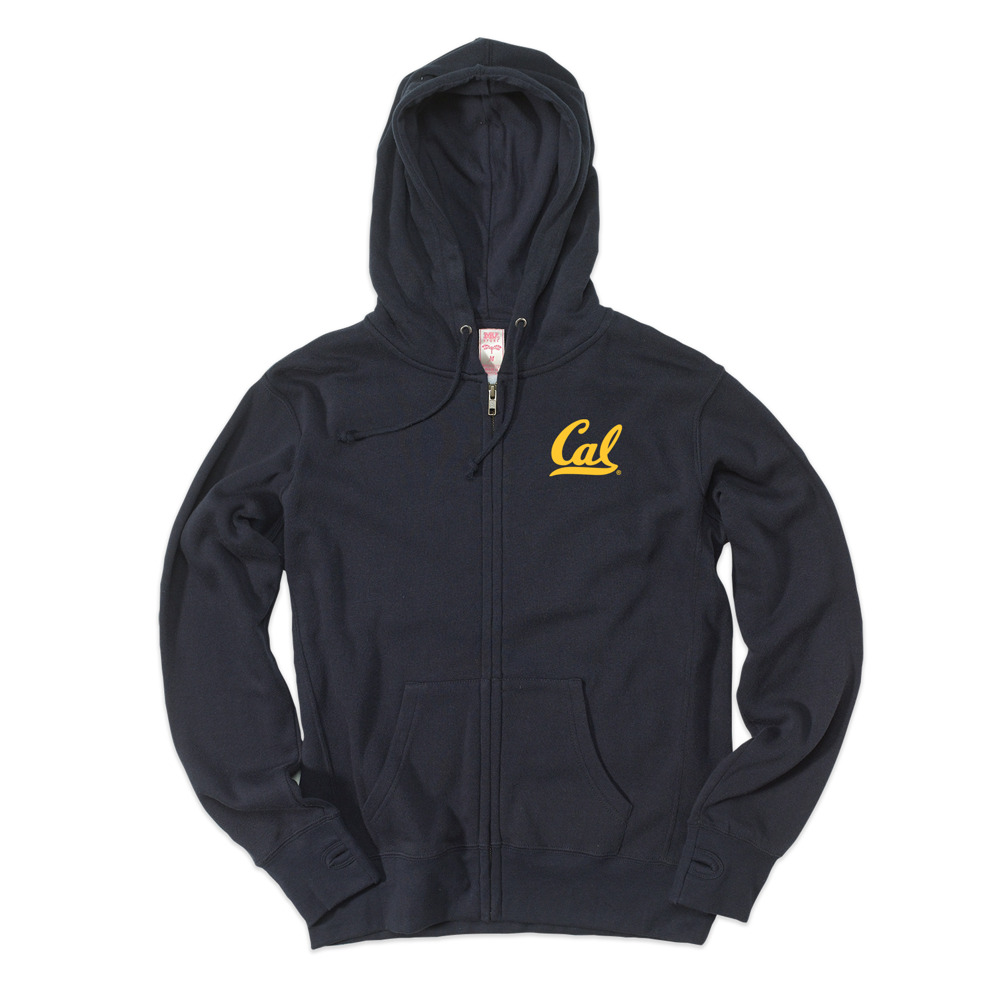 W Cloud Fleece FZ Cal Logo Left