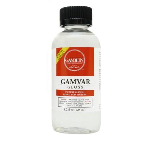 Gamblin Gamvar Gloss, 4.2 oz.