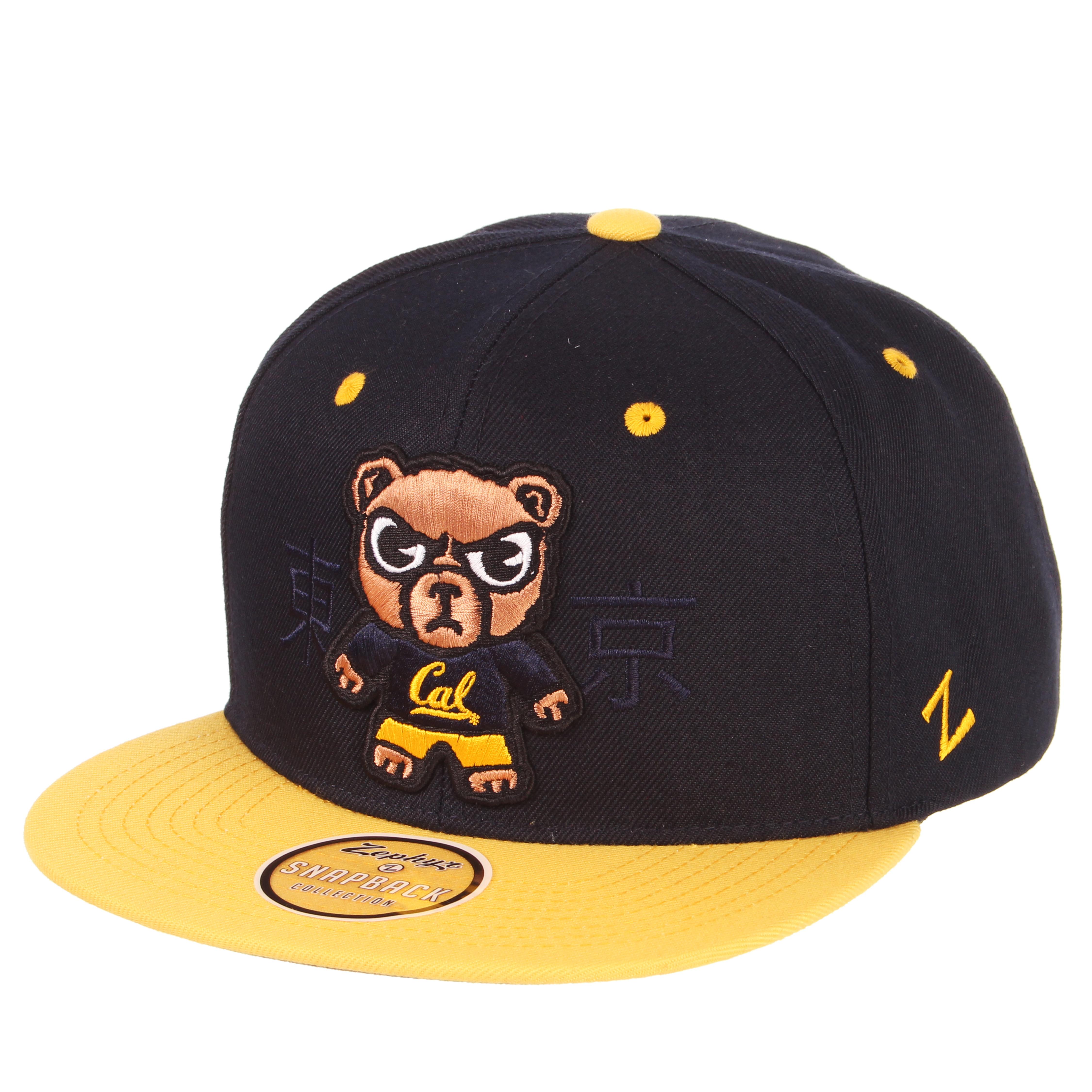 Cal Bears Zephyr Tokyodachi Flatbrim Snapback Hat