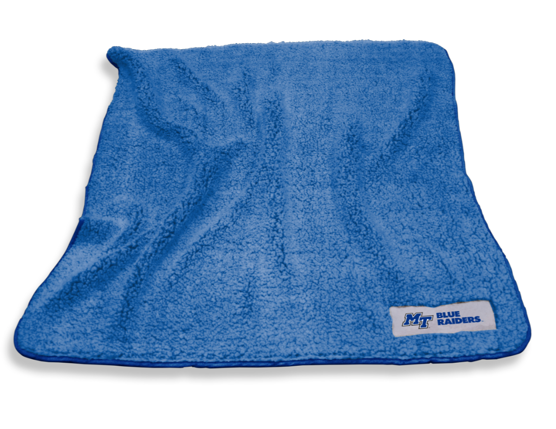 MT Blue Raiders Frosty Fleece Blanket