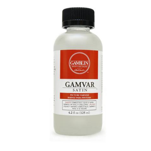 Gamblin Gamvar Satin, 4.2 oz.
