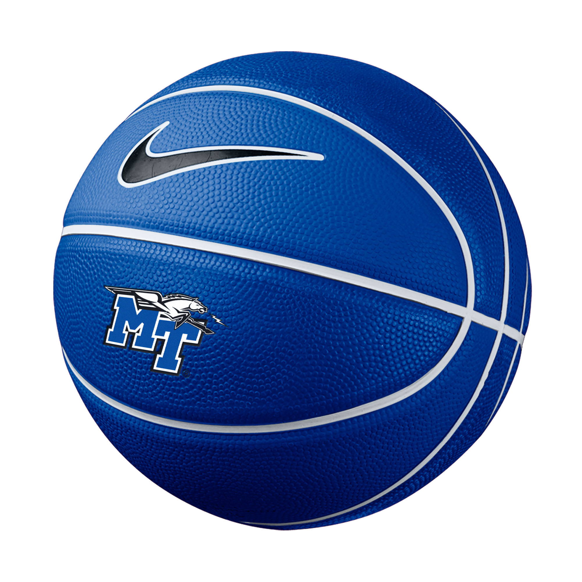 MT Logo w/ Lightning Nike® Mini Rubber Basketball