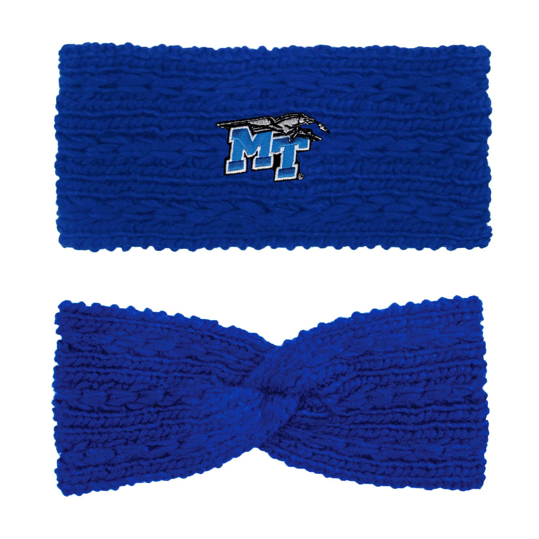 MT Logo w/ Lightning 'Adaline' Women's Knit Twist Ear Band