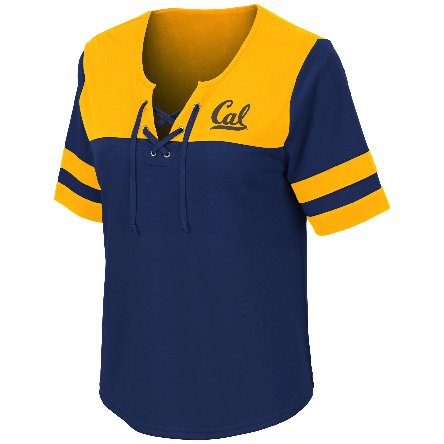 Cal Bears Women's Naples Lace-Up Tee S19