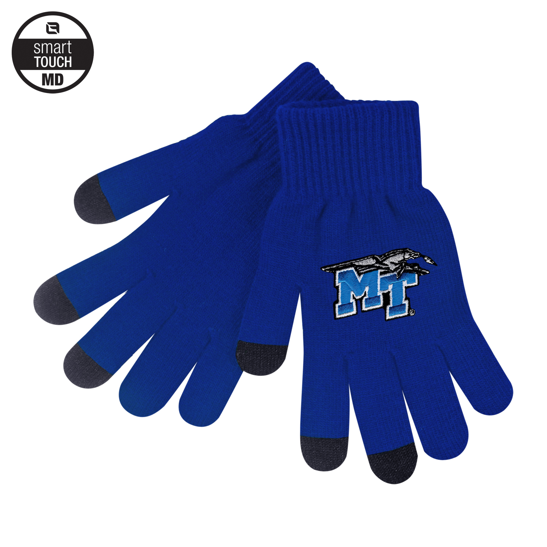 MT Logo w/ Lightning Knit Texting Gloves