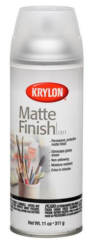Krylon Spray Finish, Matte, 11 oz.