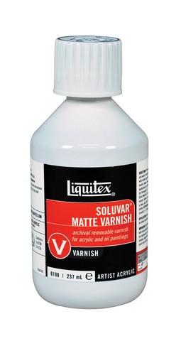Soluvar Matte Varnish - 8 oz.