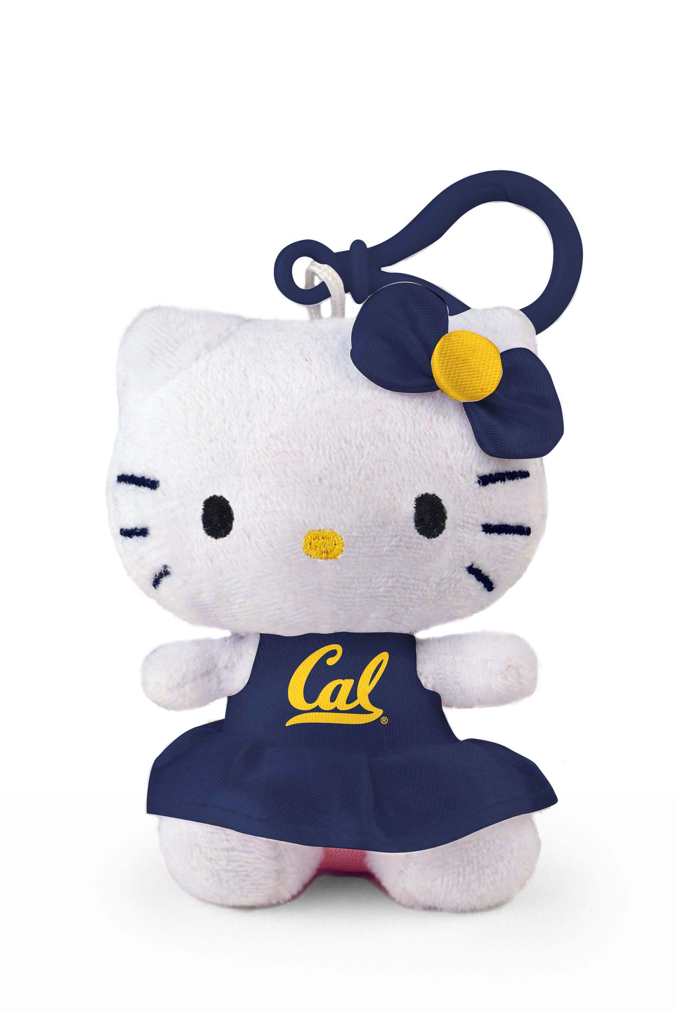 "Cal Bears Hello Kitty Keychain (4"")"