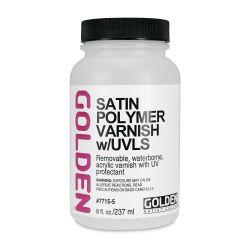 Satin Polymer Varnish with UVLs