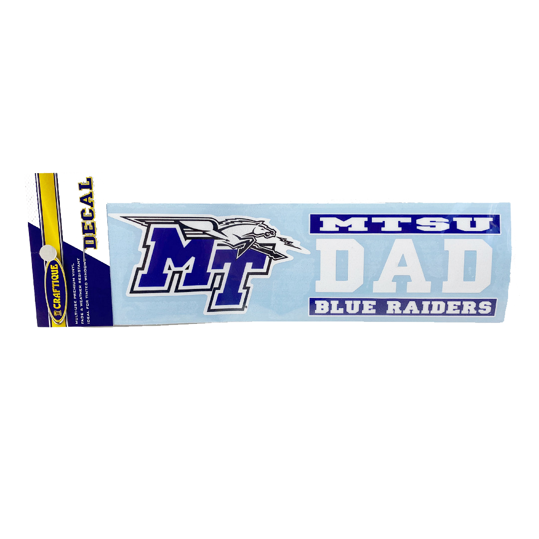 MT Dad Long Decal
