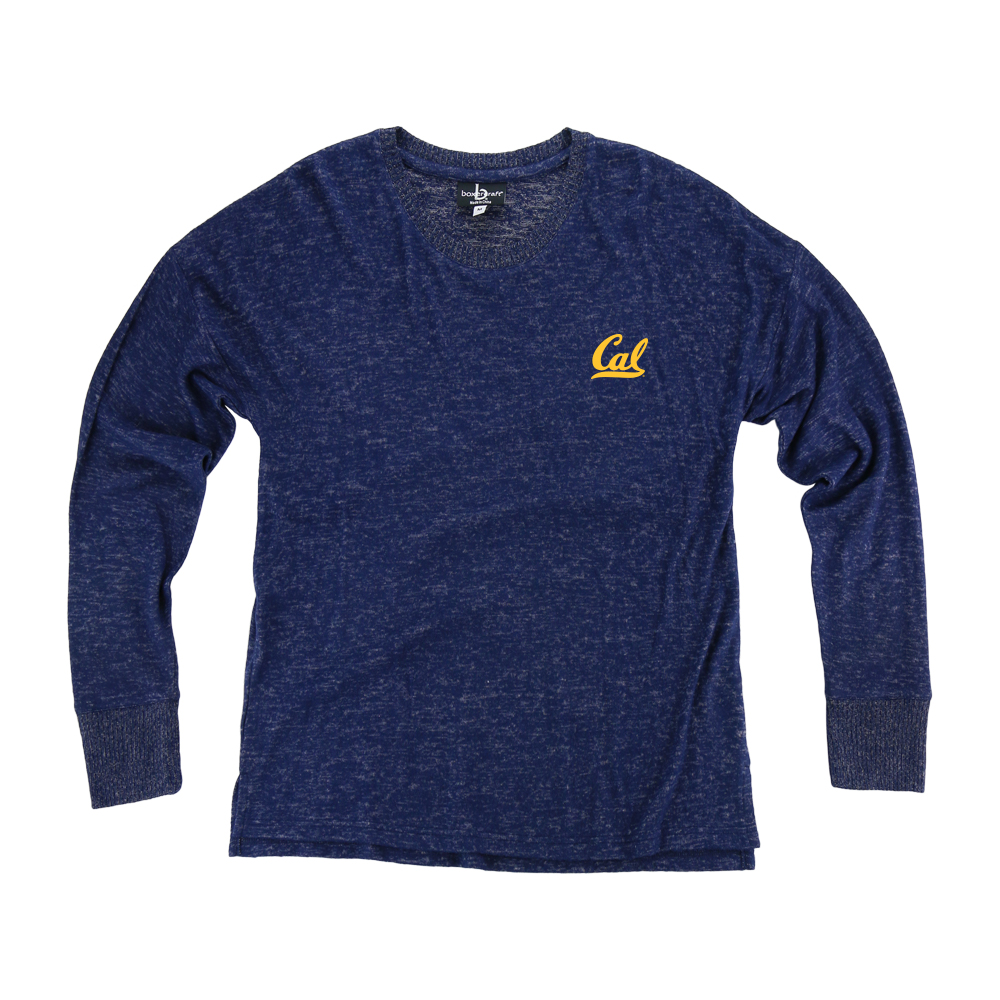 Cal Bears Women's Cuddle Boxy Crew