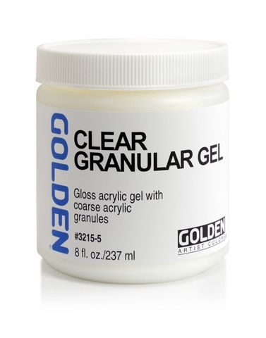 Clear Granular Gel Medium - 8 oz.