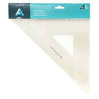 """Acrylic Triangle 8"""" - 45 Degree"""