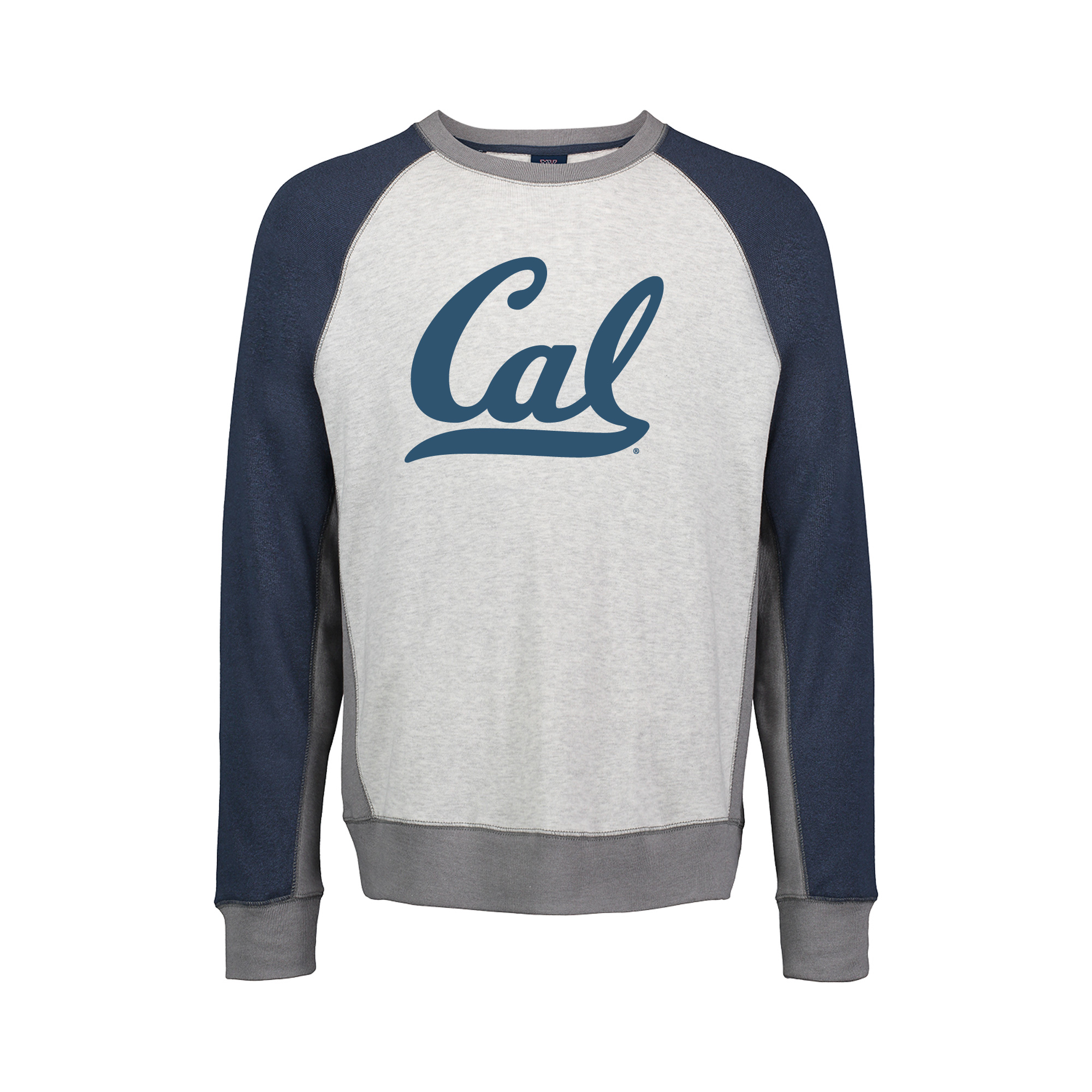 Cal Bears Pepper Fleece Crewneck Berkeley arched over seal