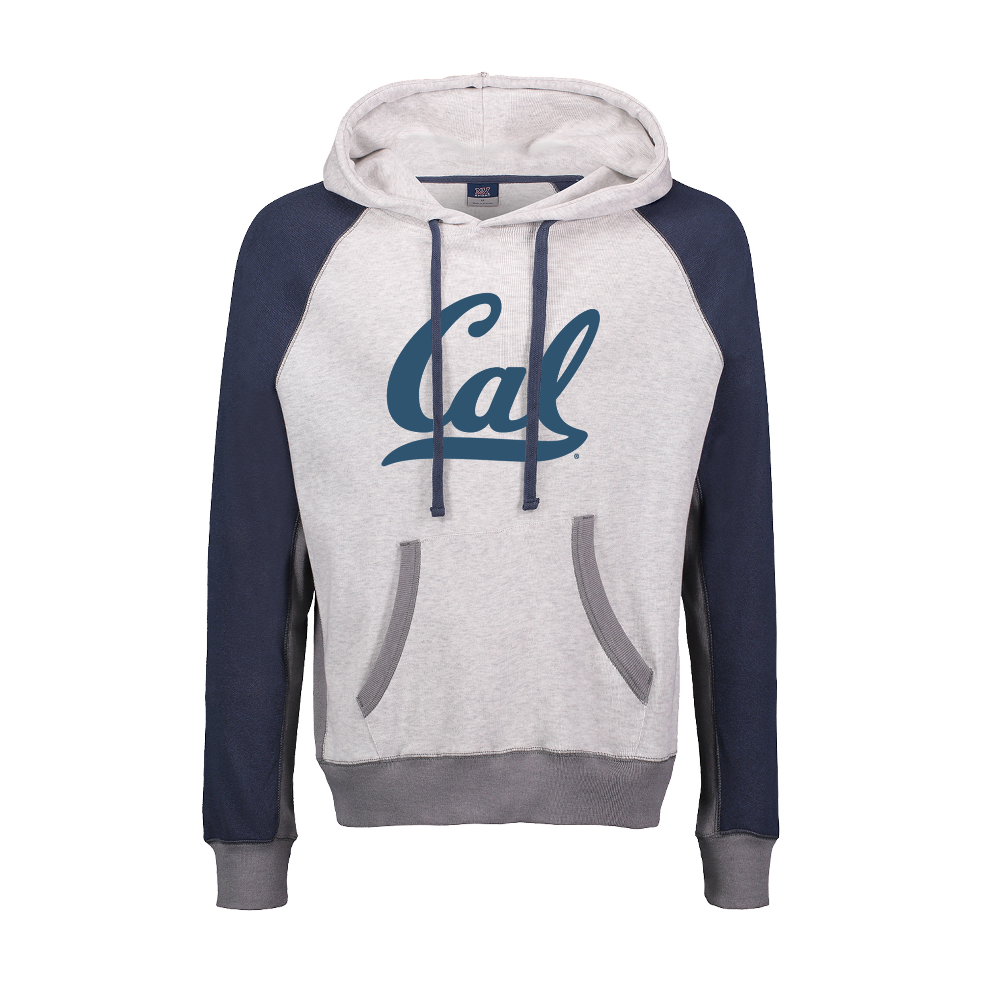 Cal Bears Pepper Fleece Hood Cal logo full chest